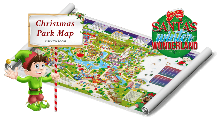 Warrington Christmas Park Map