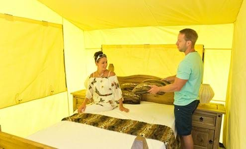 Adventurers Village - Accessible Accommodation Tents