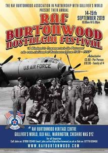 RAF Burtonwood - Events
