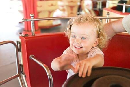 Toddlers at Gulliver's, Days out for Preschoolers, rides and attractions
