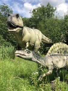 T-Rex Trail Milton Keynes, Dinosaur Park, Family Experience