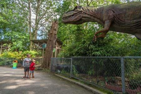 Trex Trek Package, Animatronic Dinosaurs, Gulliver's World Dinosaur Experience
