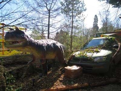 Trex Trek Package, Animatronic Dinosaurs, Gulliver's Kingdom Dinosaur Experience
