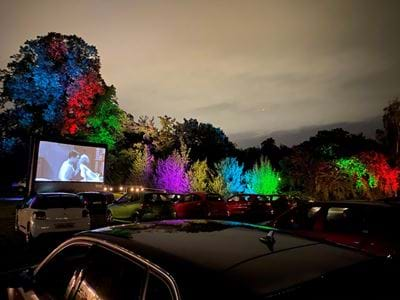 Drive Thru Cinema at Gulliver's