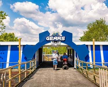 Gulliver's Gears Themed Area in Gulliver's South Yorkshire
